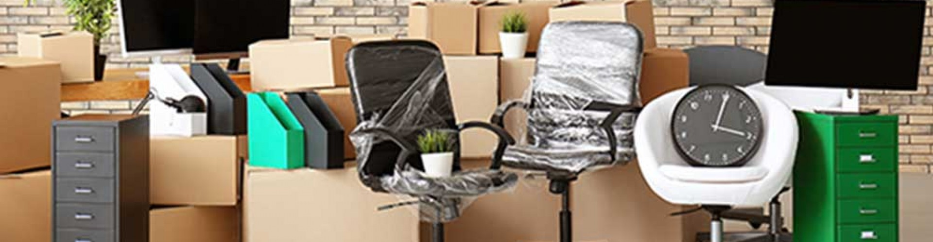 wrapped office furniture|storm clouds