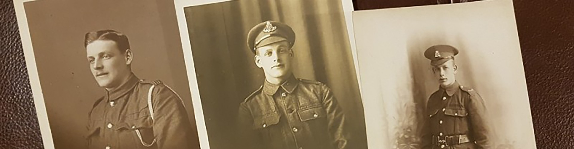 three brothers photographs from first world war