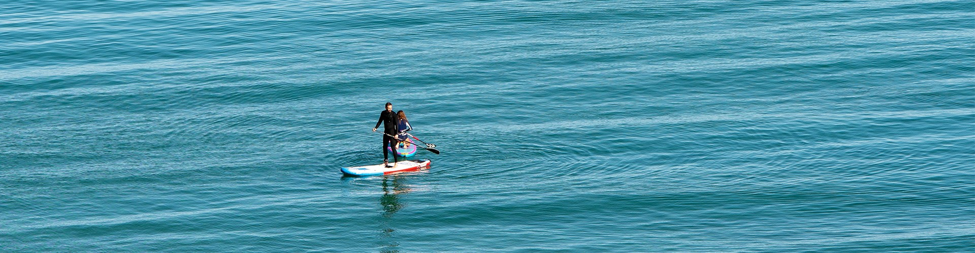Paddle boarding in Cornwall