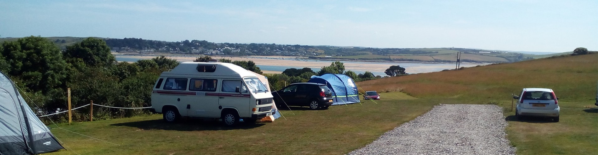View of Camel Trail from Dennis Cove Campsite