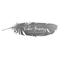 Vickie Heaney feather logo