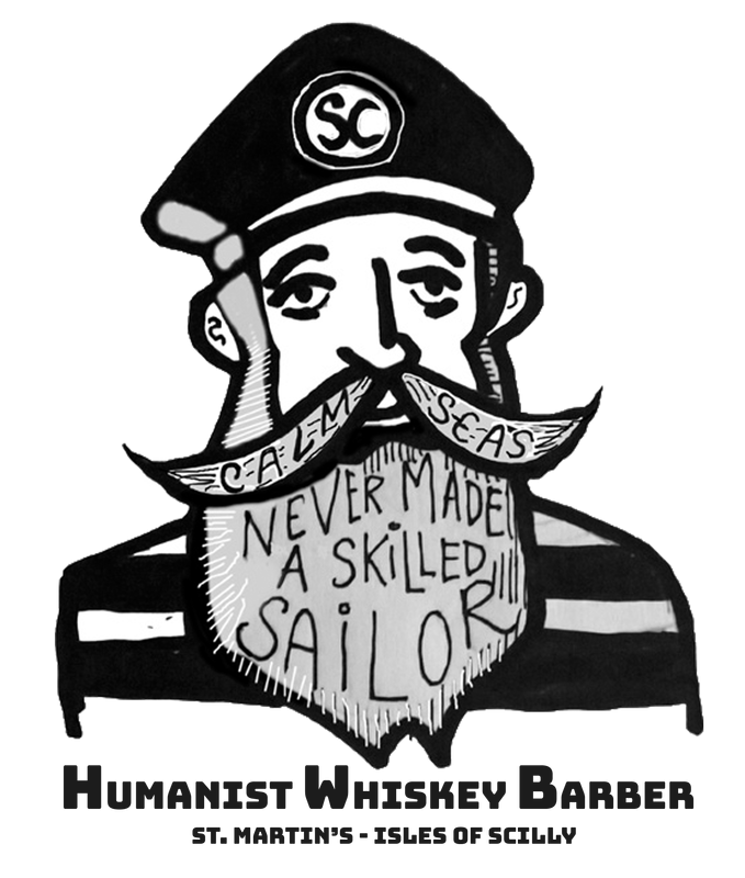 Hand drawn image of an old fashioned sailor