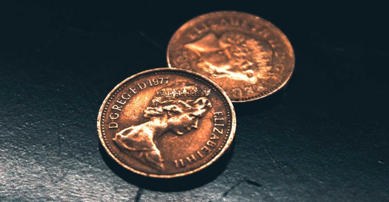 two pennies money